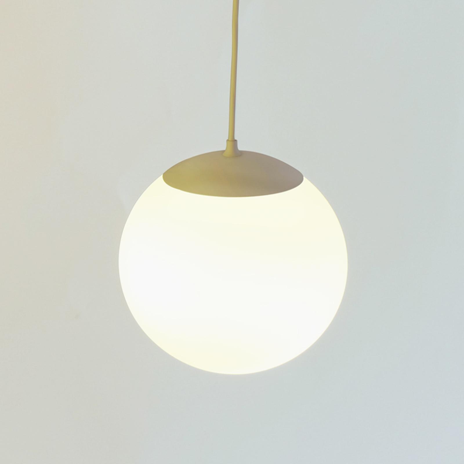 Innermost Drop lampa wisząca, mosiądz, Ø 20 cm