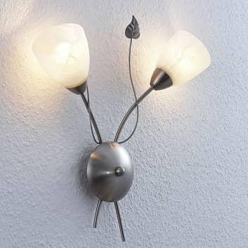 Lindby Yannie LED-Wandleuchte, zweiflammig