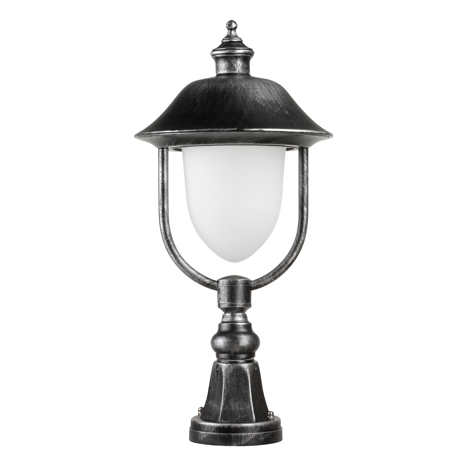 Słupek oświetleniowy 1156, czarny/srebrny