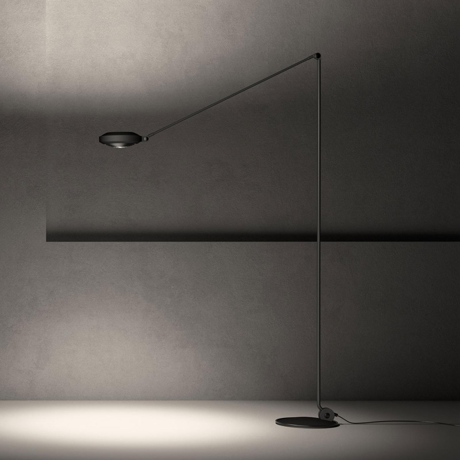 Lumina Elle LED-Stehlampe Höhe200cm 3.000K schwarz