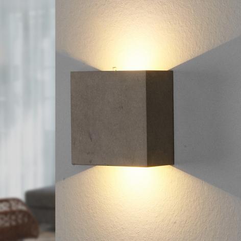 Yva– nástěnné LED svítidlo zbetonu