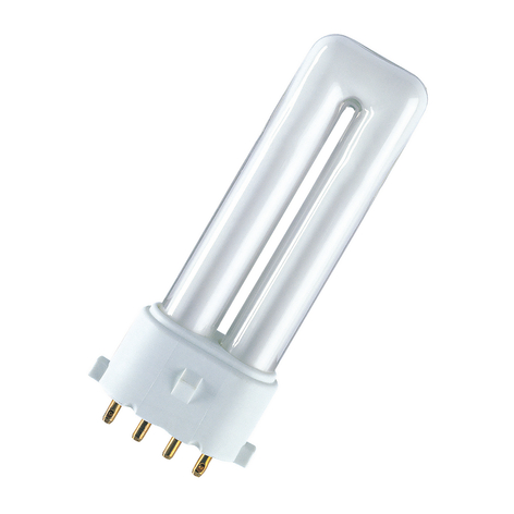 2G7 kompakt lysstofrør Dulux S/E