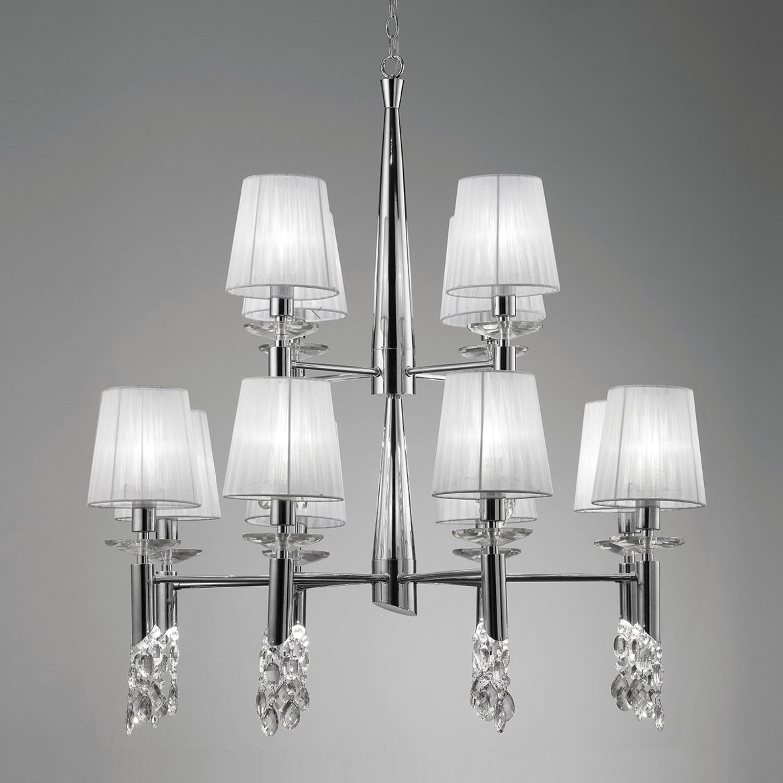 Kroonluchter Lilja 12-lamps