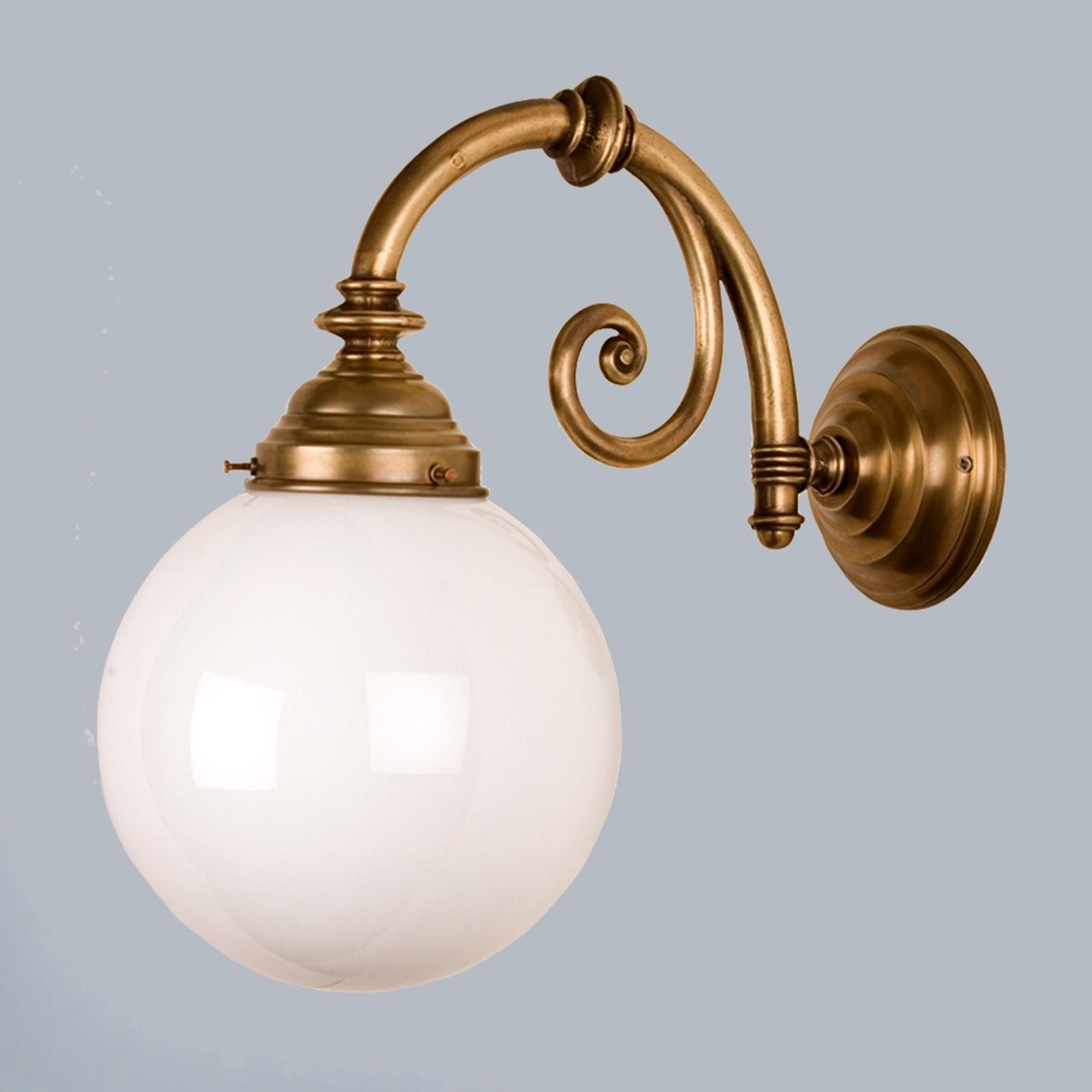 Messing wandlamp Frank