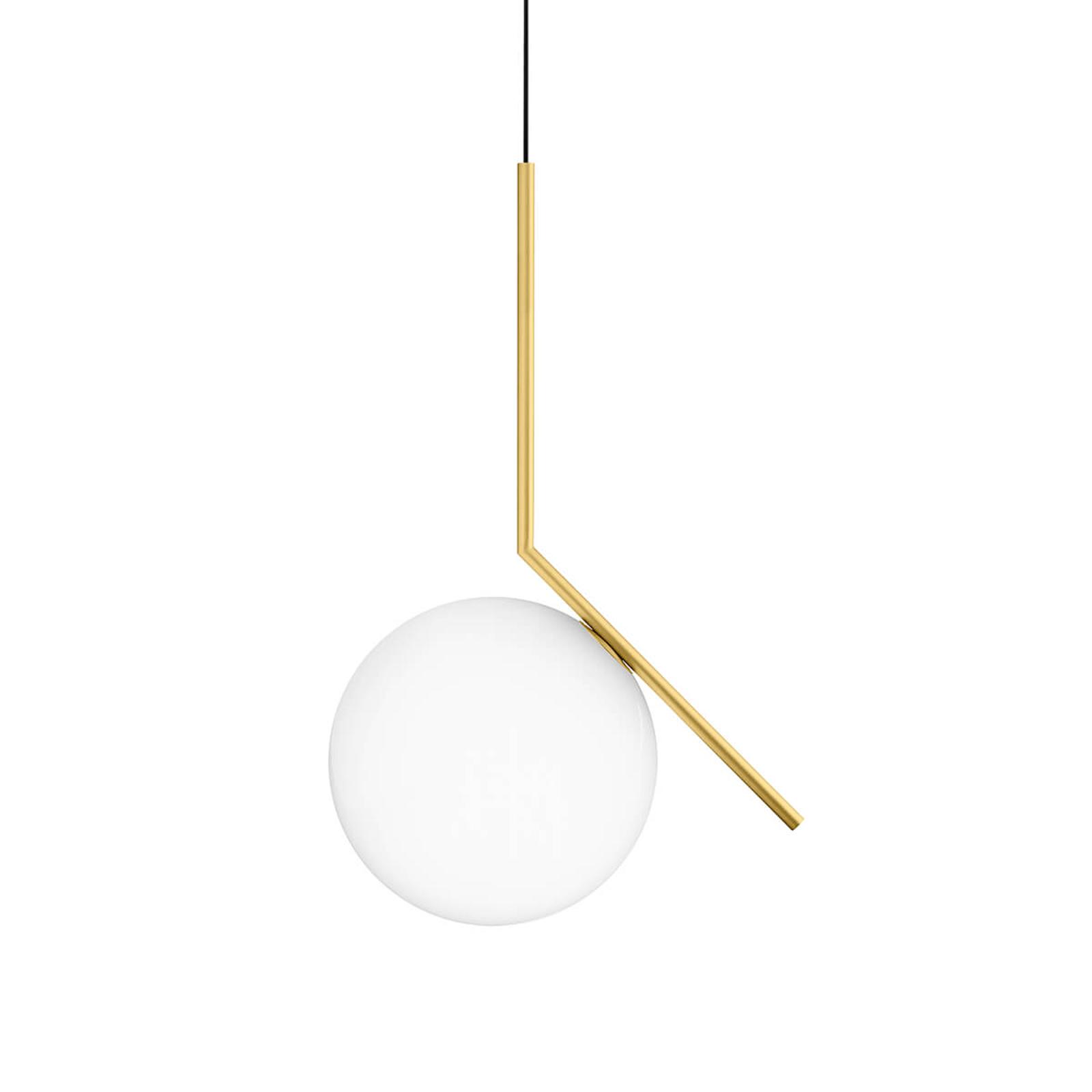 FLOS IC S2  designové závěsné světlo, mosaz