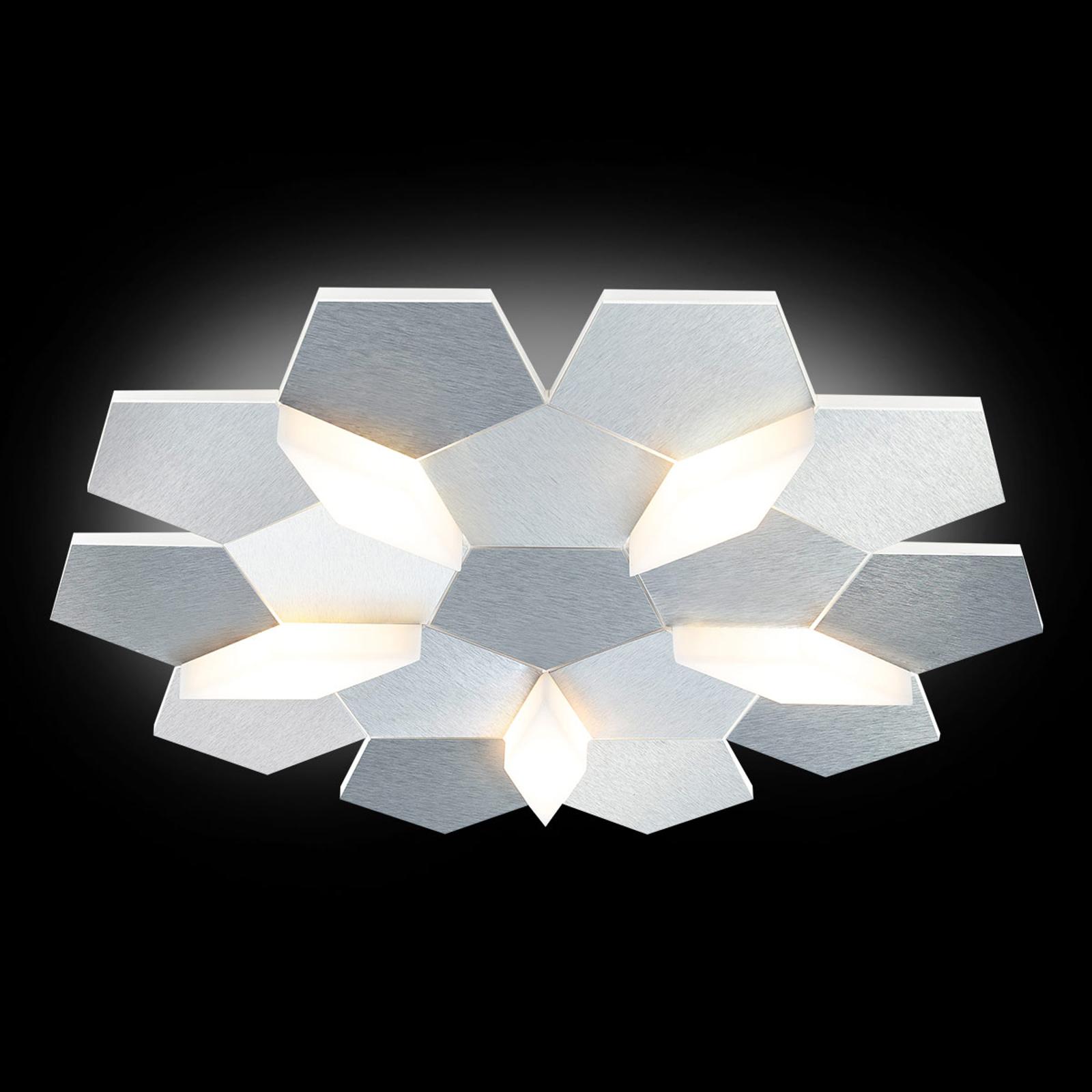 GROSSMAN Carat plafonnier LED, à 5 lampes