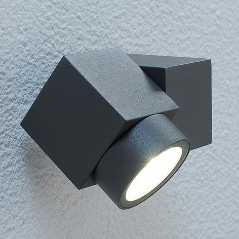 Spot d'extérieur mobile Lorelle à LED