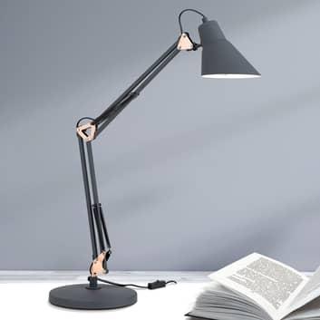Stolní lampa Bachelor, trojitě nastavitelná