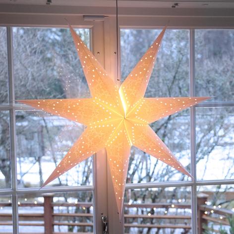 Sensy Star - en dekorasjonslampe med syv kanter
