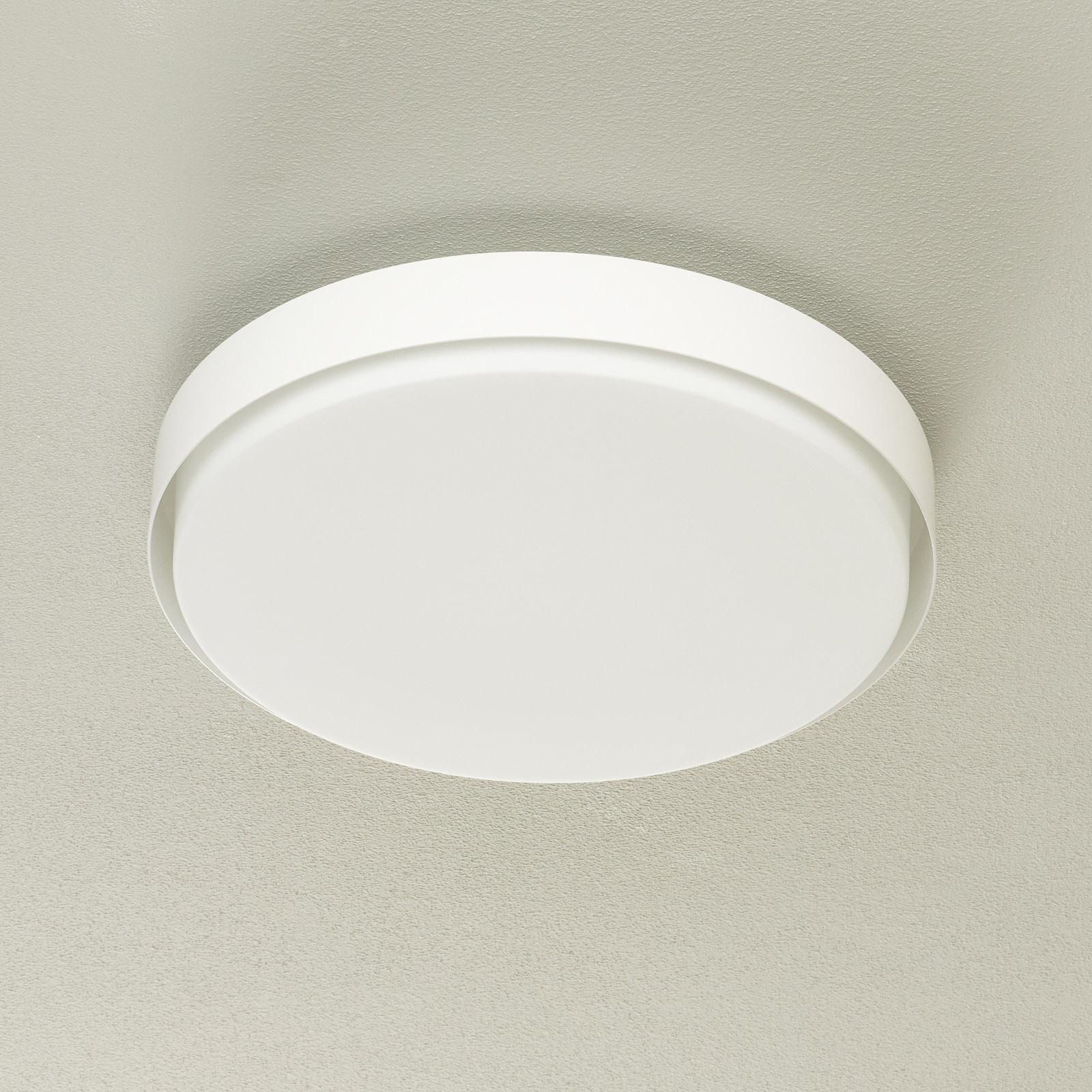 BEGA 34279 LED-Deckenleuchte, weiß, Ø 42 cm, DALI