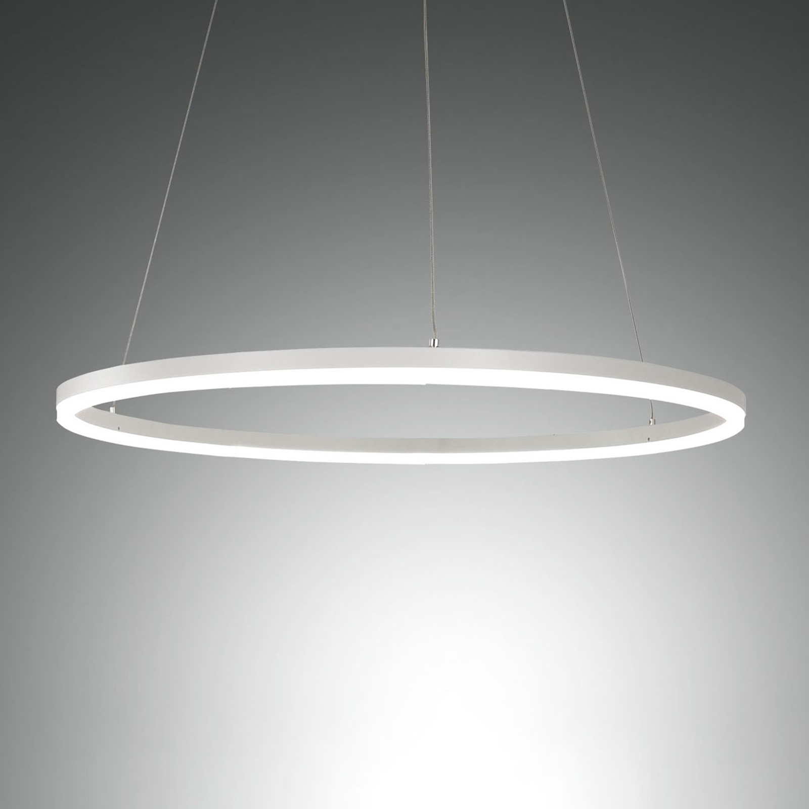 Giotto LED-pendellampe, 1 lyskilde, hvid