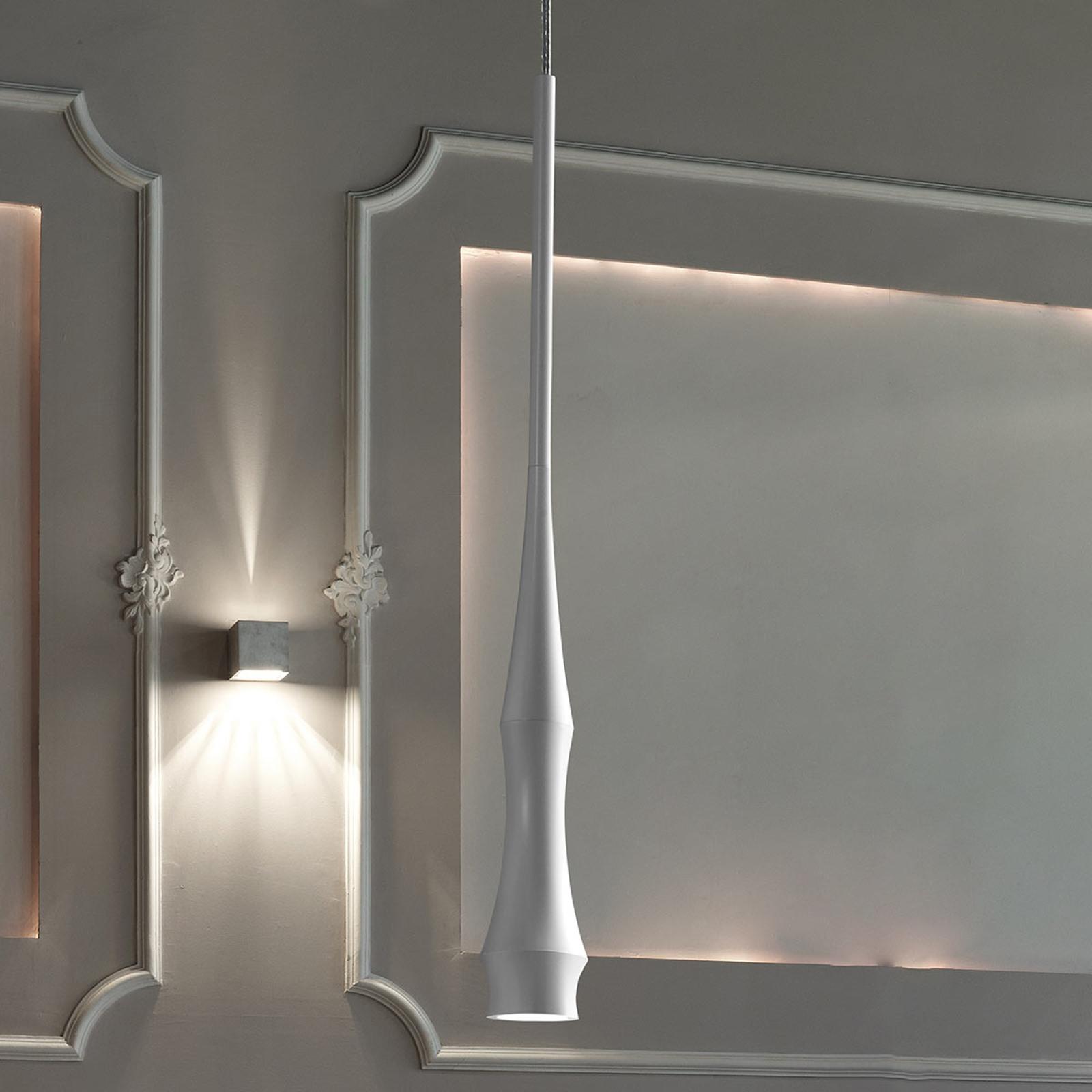 Bover Slend 01 - design-hanglamp, wit