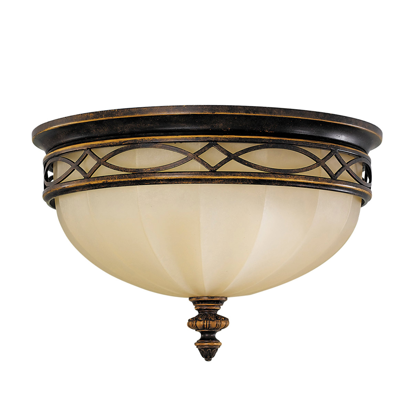Drawing Room Ceiling Light with Scavo Glass_3048239_1