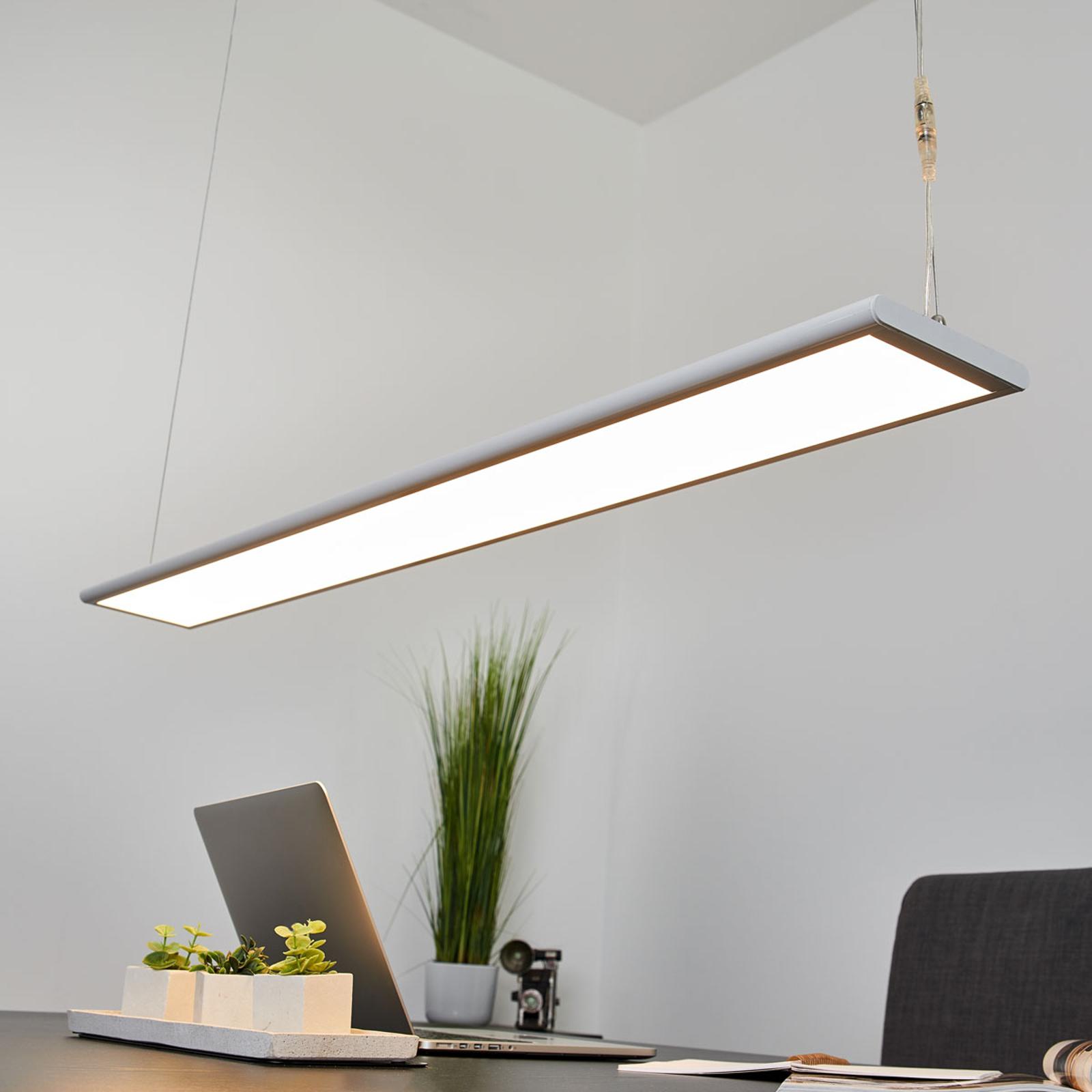 LED kancelářská závěsná lampa Samu, 40,5 W