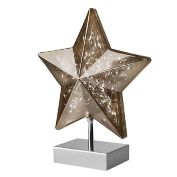 Bordslampa Stella i stjärnform