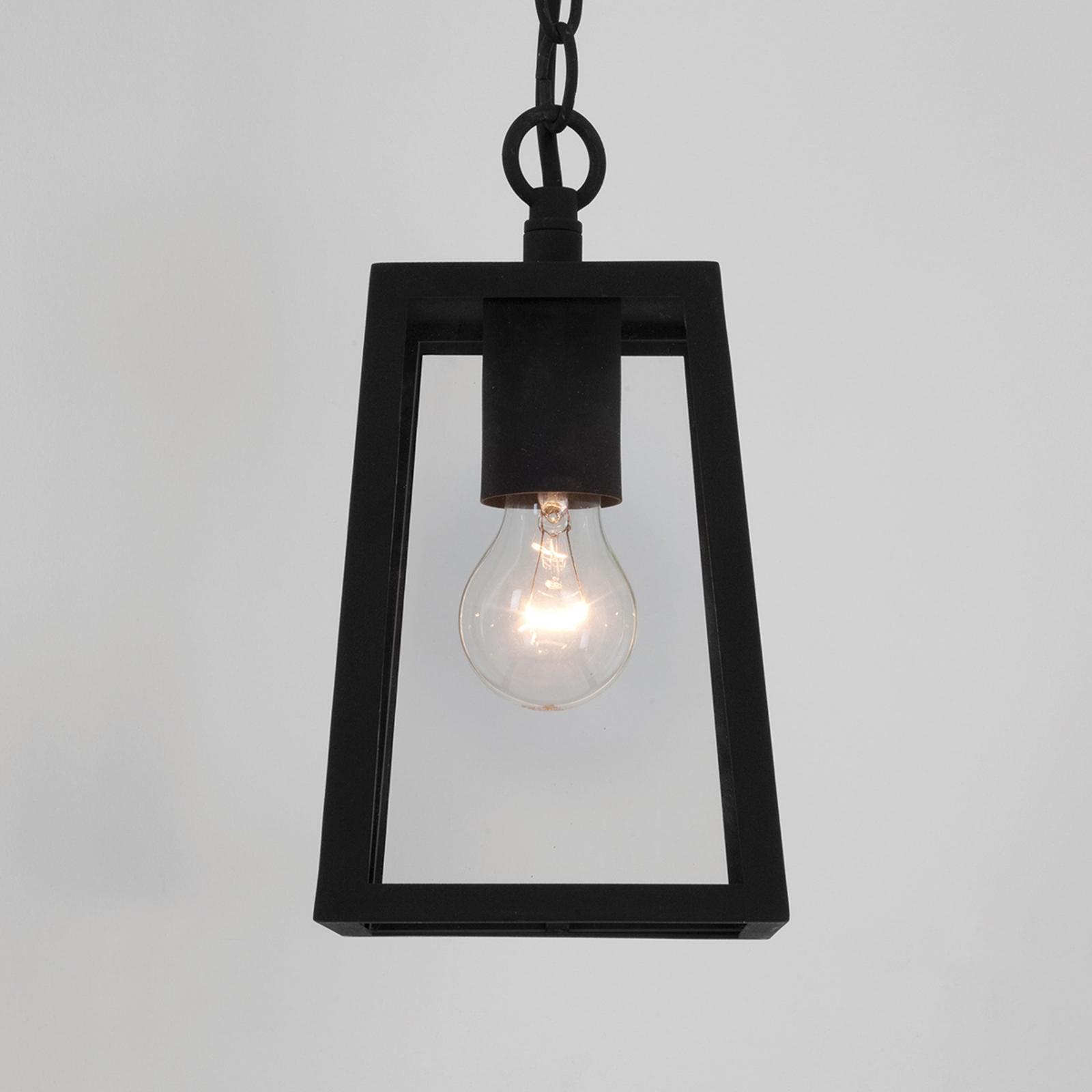 Lampa wisząca CALVI na zewn., czarna oprawa