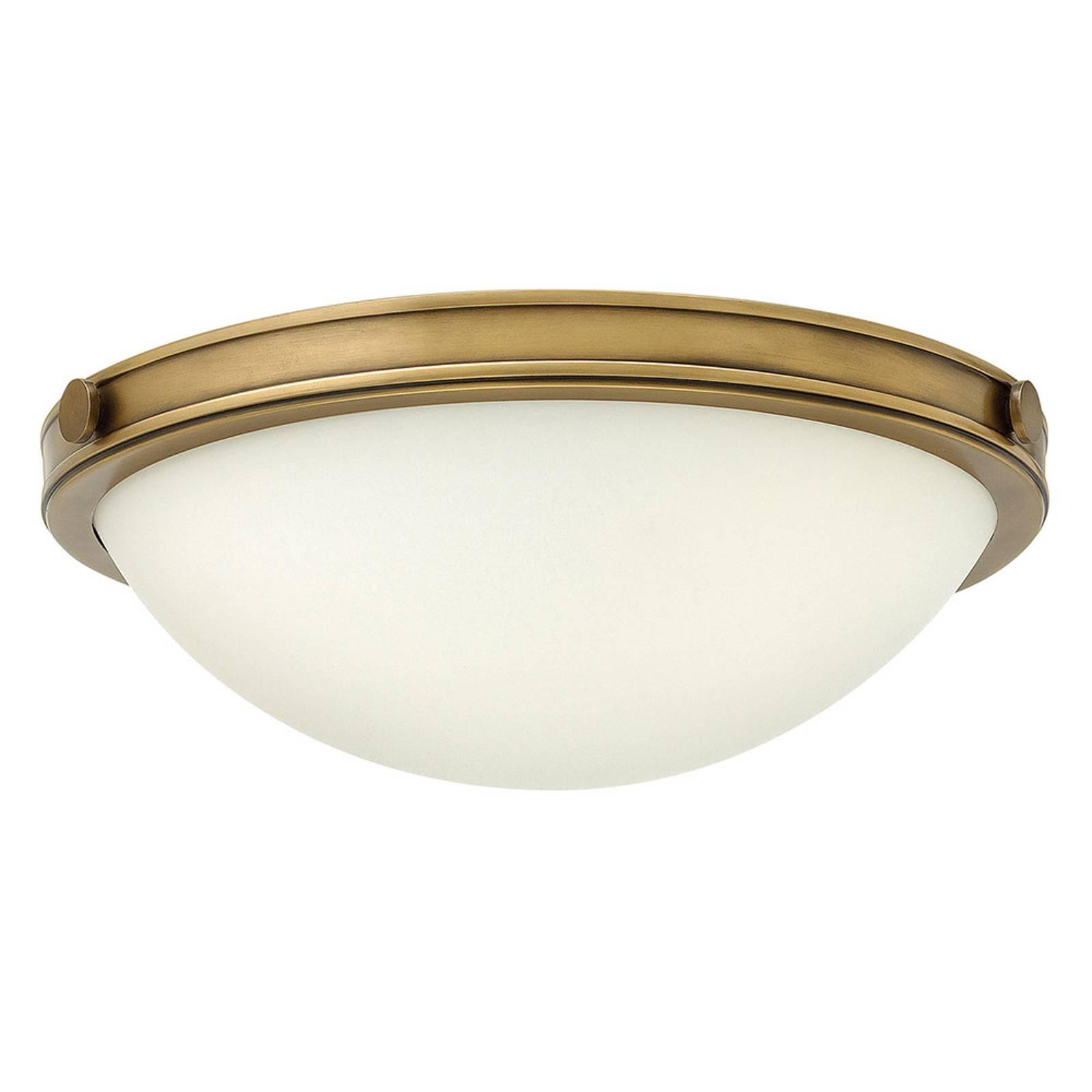 Plafondlamp Collier met messing finish 34,6cm