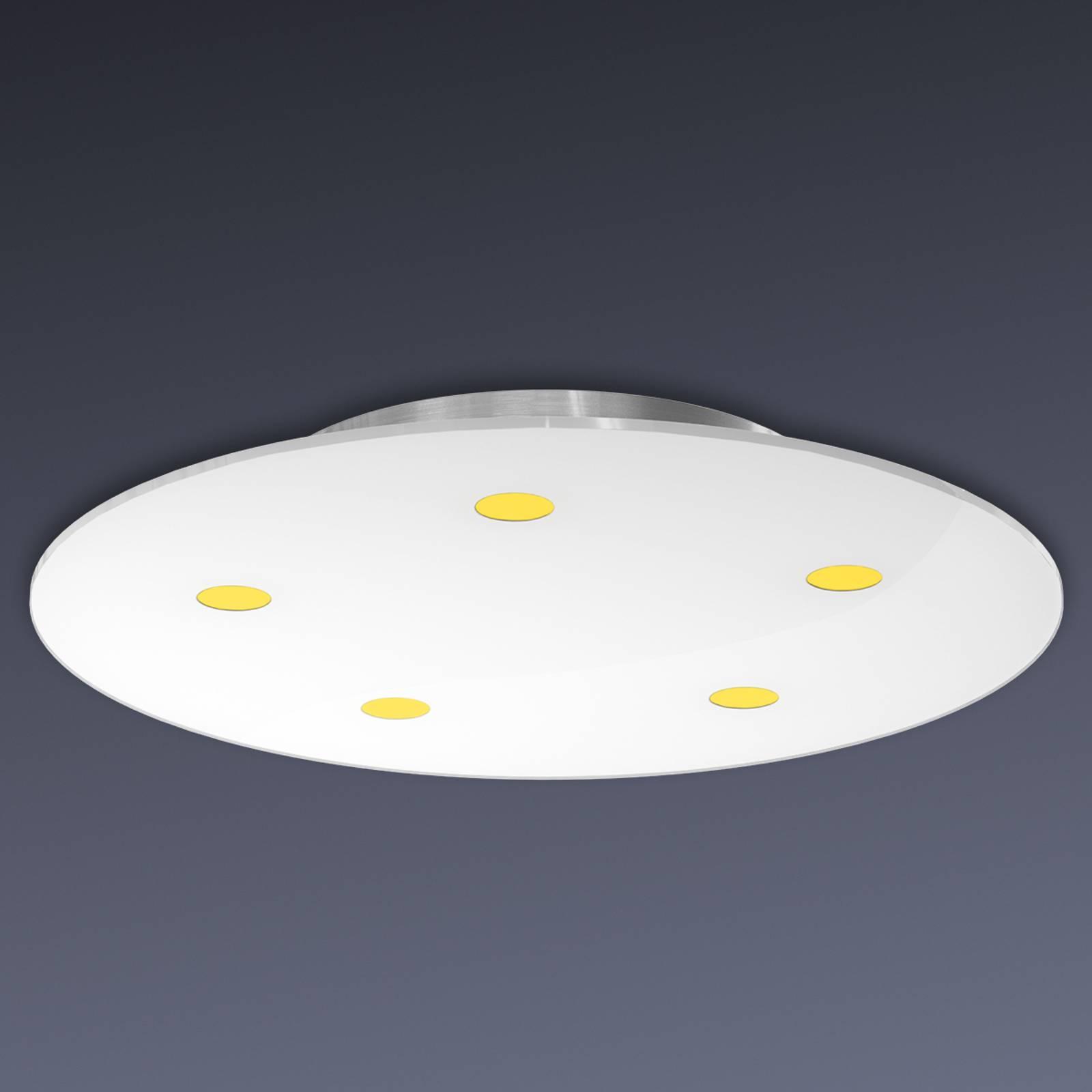 Lampada LED da soffitto Sunia dimmerabile
