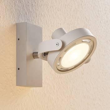 Faretto LED Munin dimmerabile, bianco, 1 luce