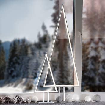 LED-dekorationslampe Pine aluminium 100 cm