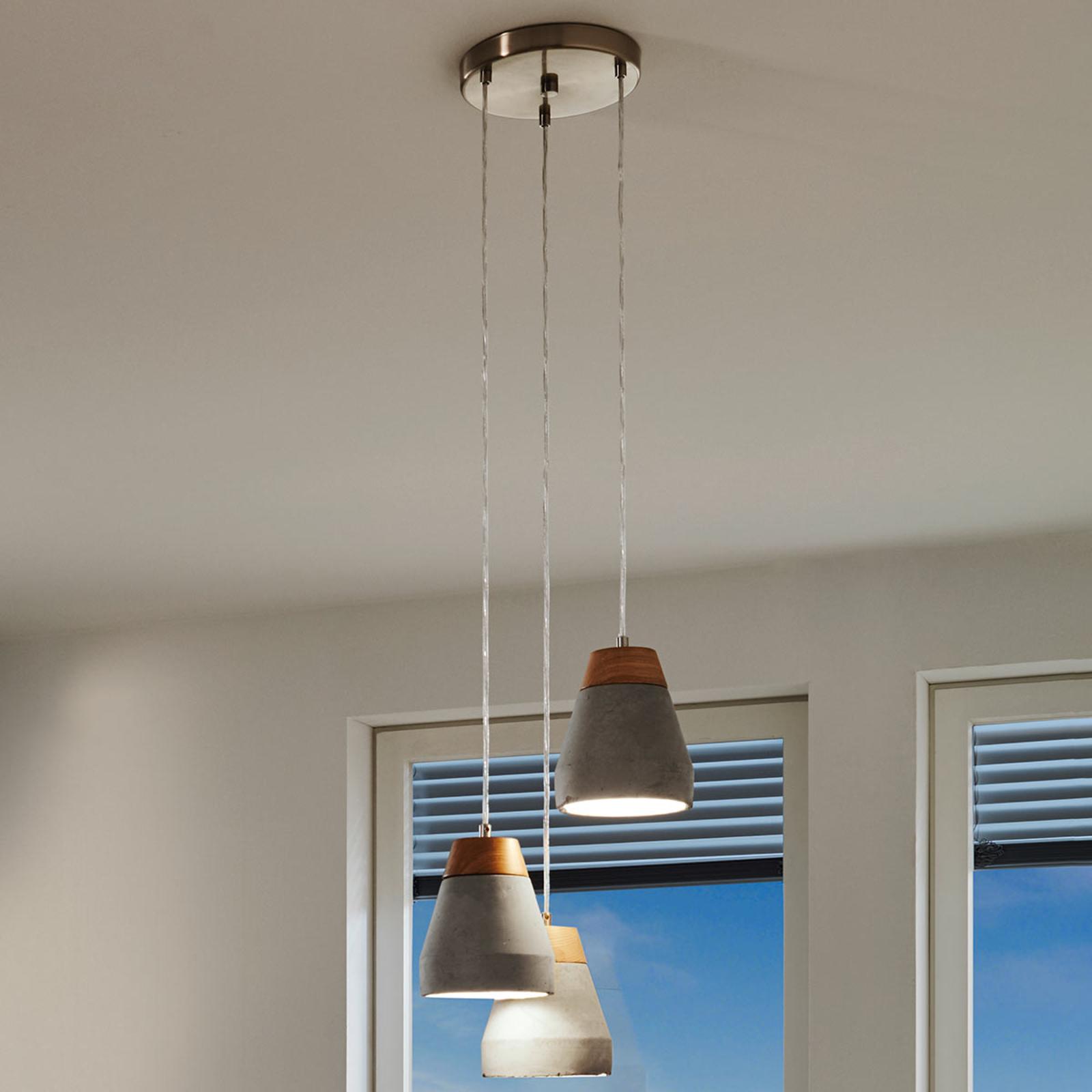 Industrialna lampa wisząca Tarega