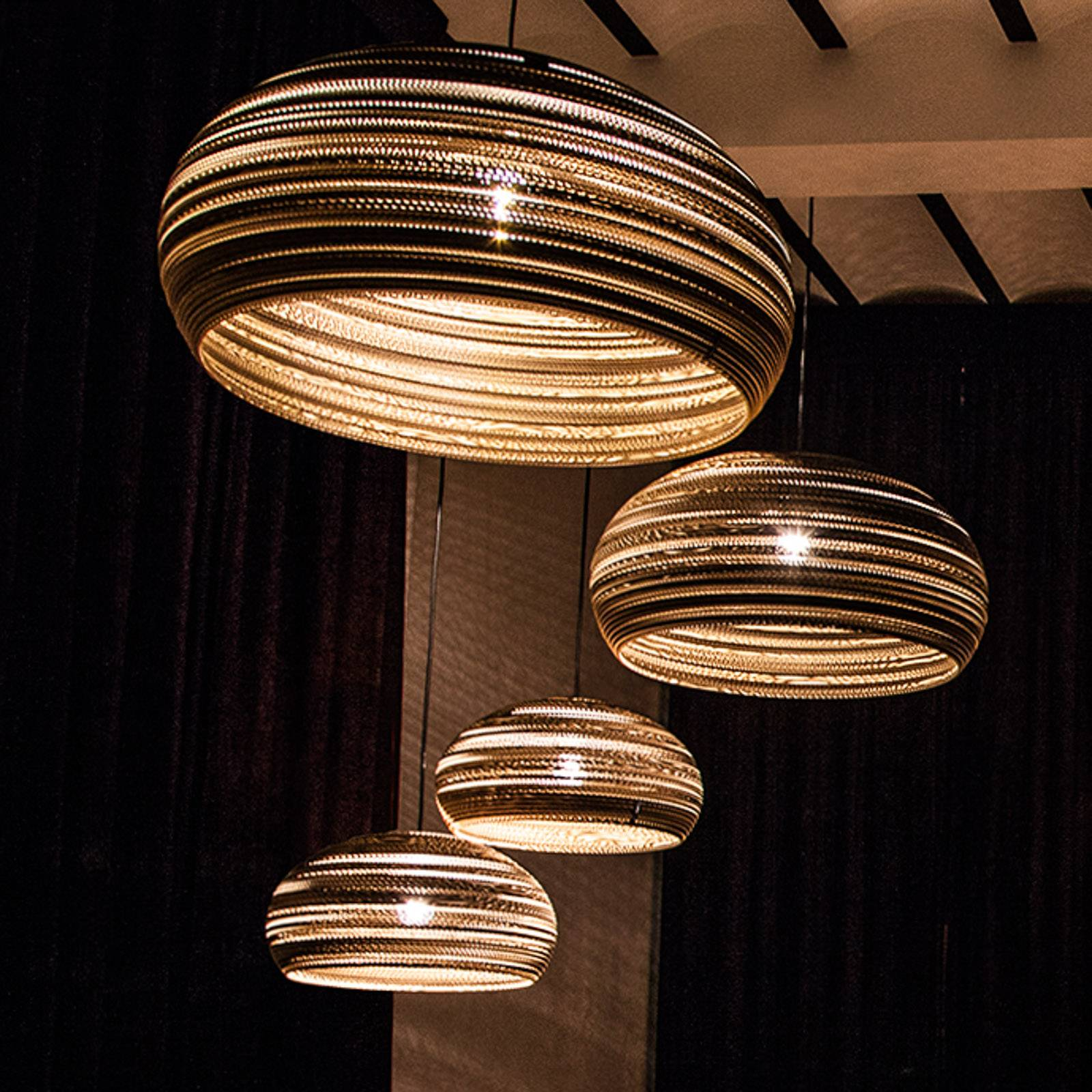 Think Paper Dandy 290 hanglamp van karton