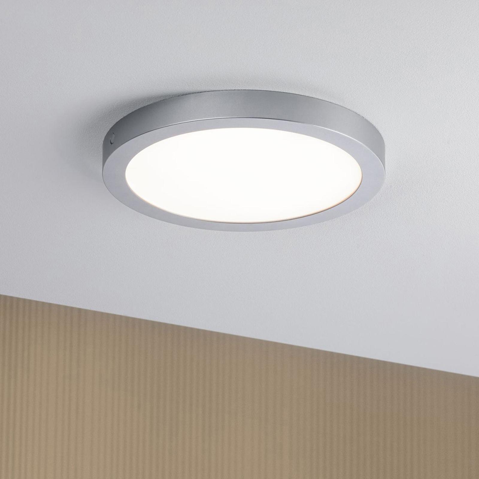 Paulmann Abia LED stropní světlo Ø 30 cm chrom mat