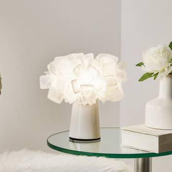 Drömlikt vacker bordslampa Clizia, opal