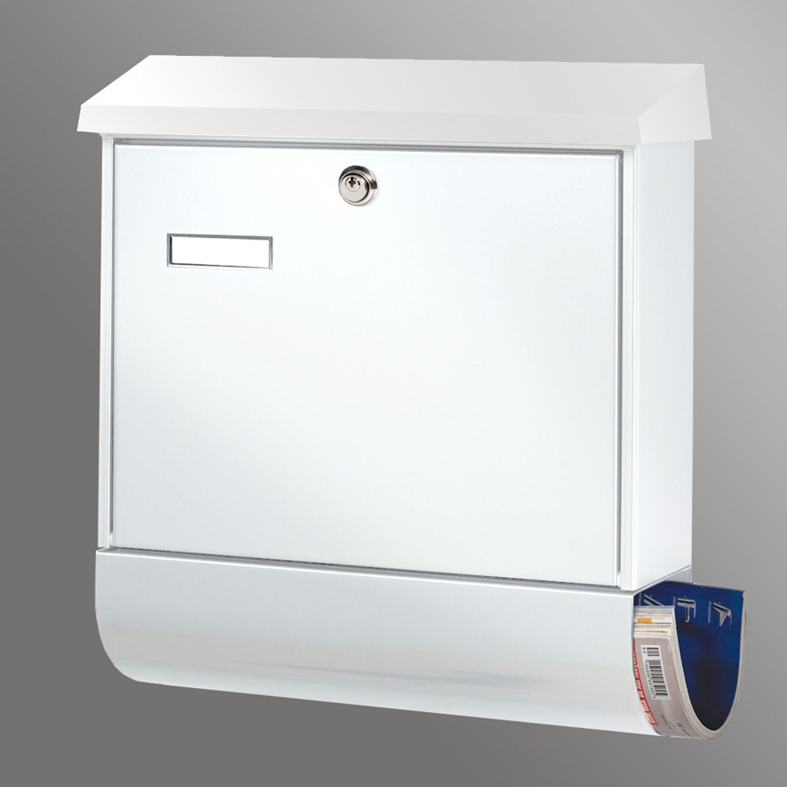 Populær SET VARIO postkasse i hvitt