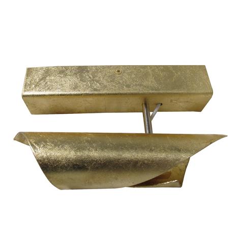 Knikerboker Hué LED-Wandleuchte 16cm Blattgold