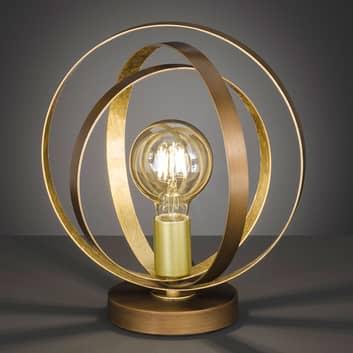 Lámpara de mesa Cordoba moderna, pantalla de jaula