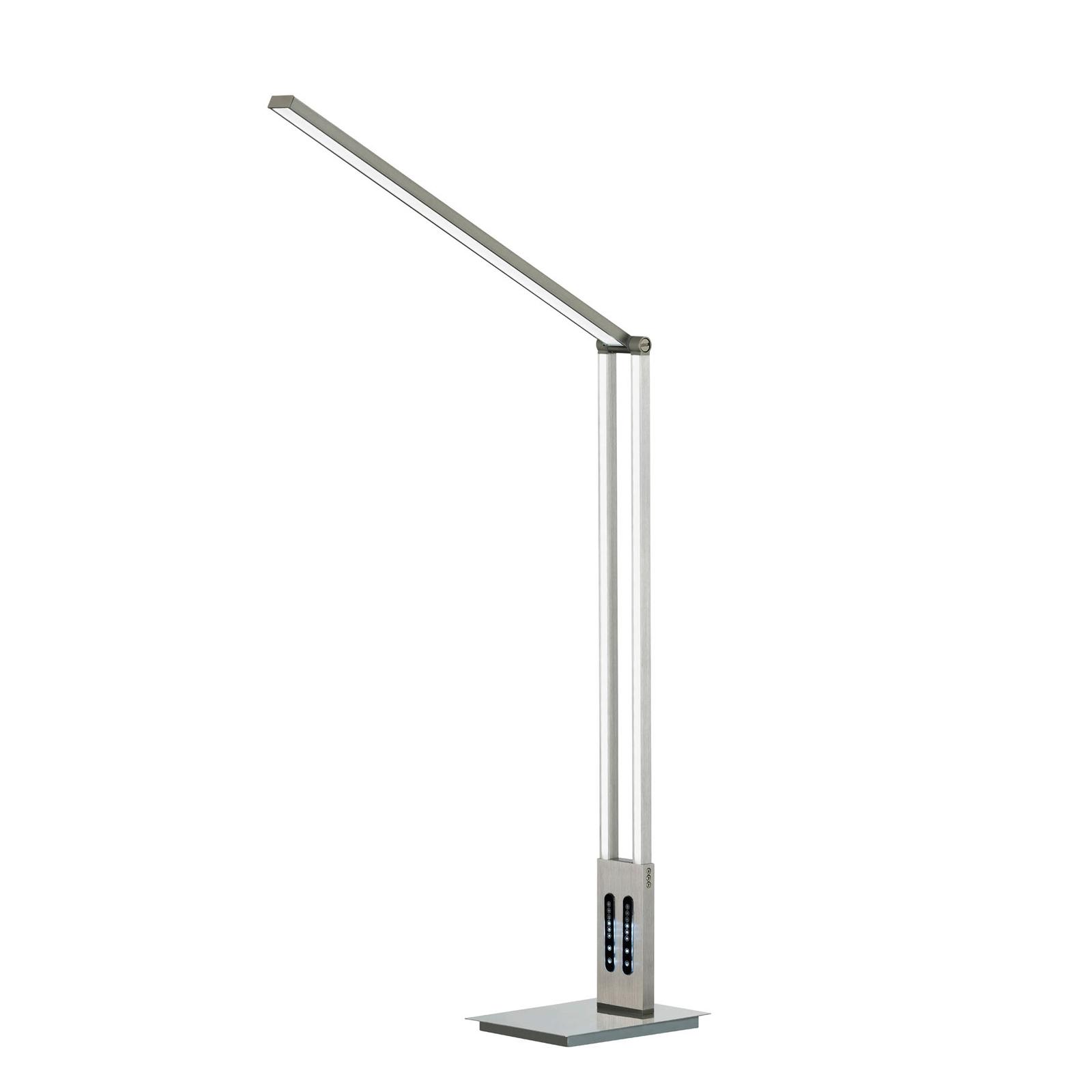 Lampa stojąca LED Lille, przechylana wysokość 98cm