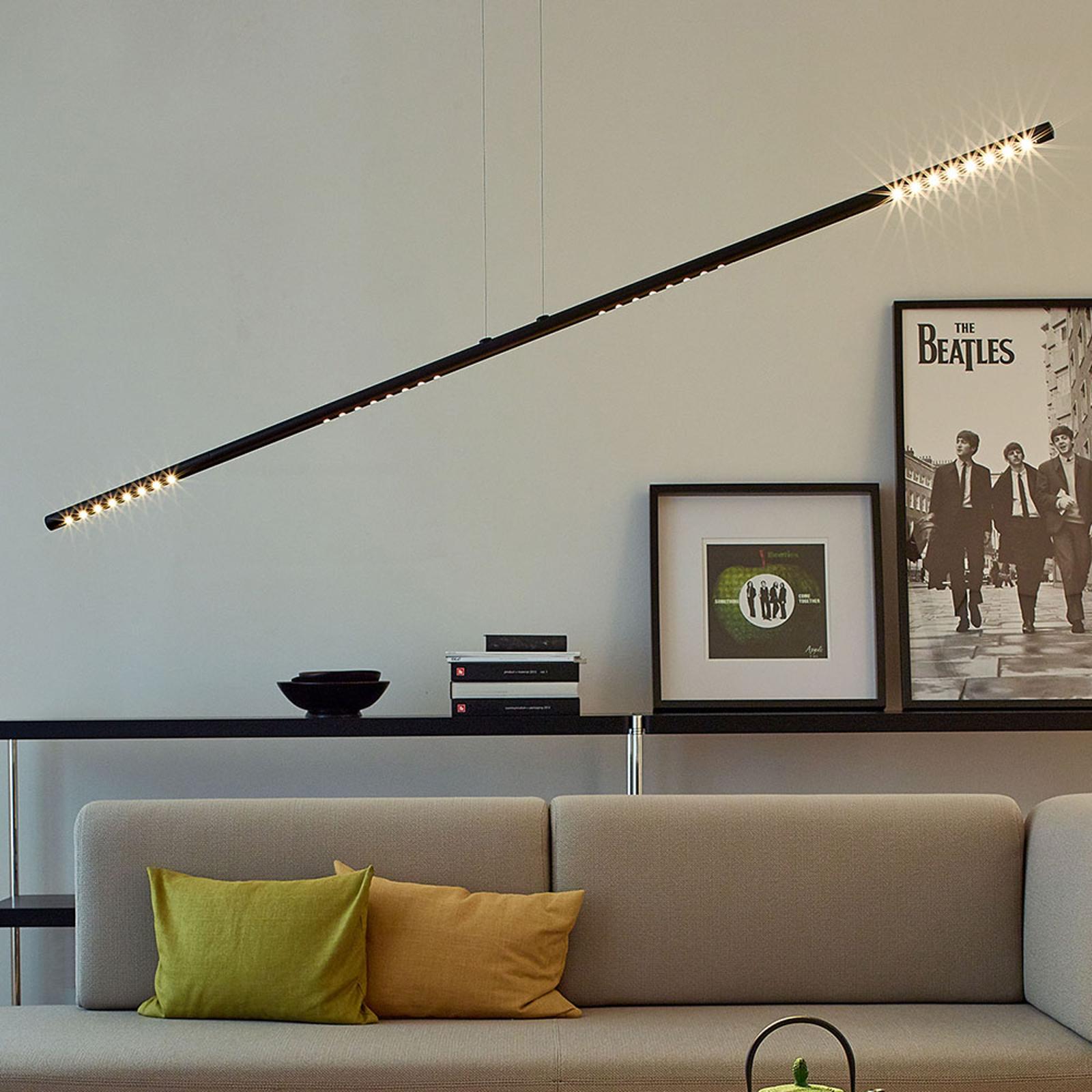 TECNOLUMEN LUM L Hängeleuchte, 135 cm, schwarz