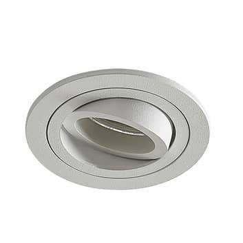 Foco empotrado Enne en forma circular, blanco