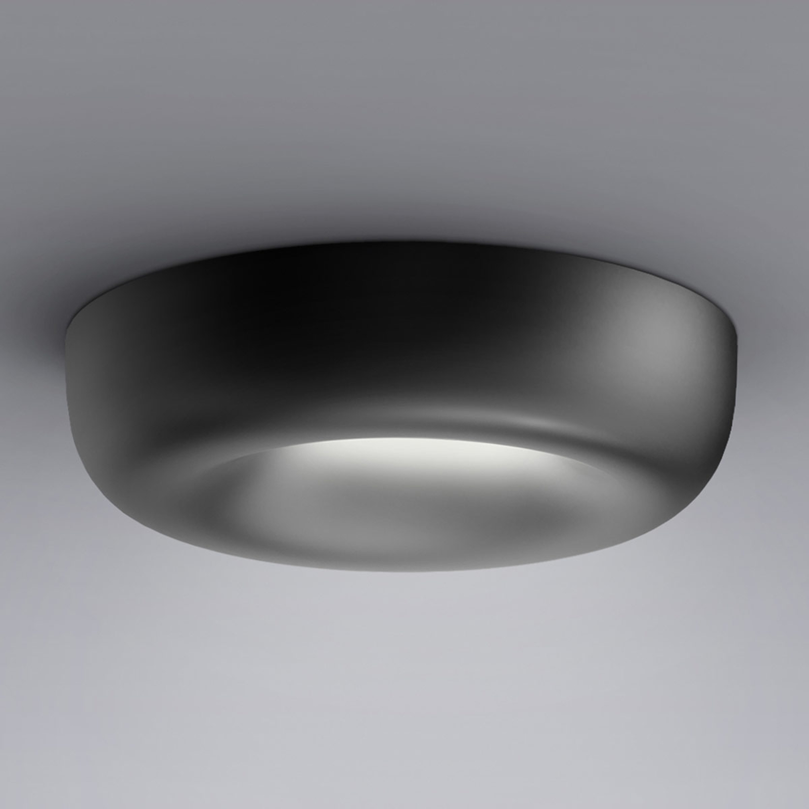 serien.lighting Cavity Recessed L, svart