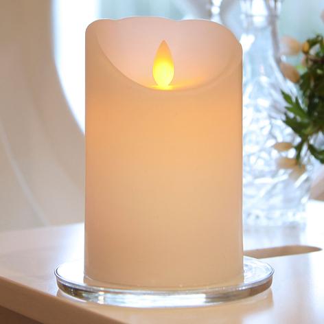 Bougie blanche LED Glim avec flamme vacillante