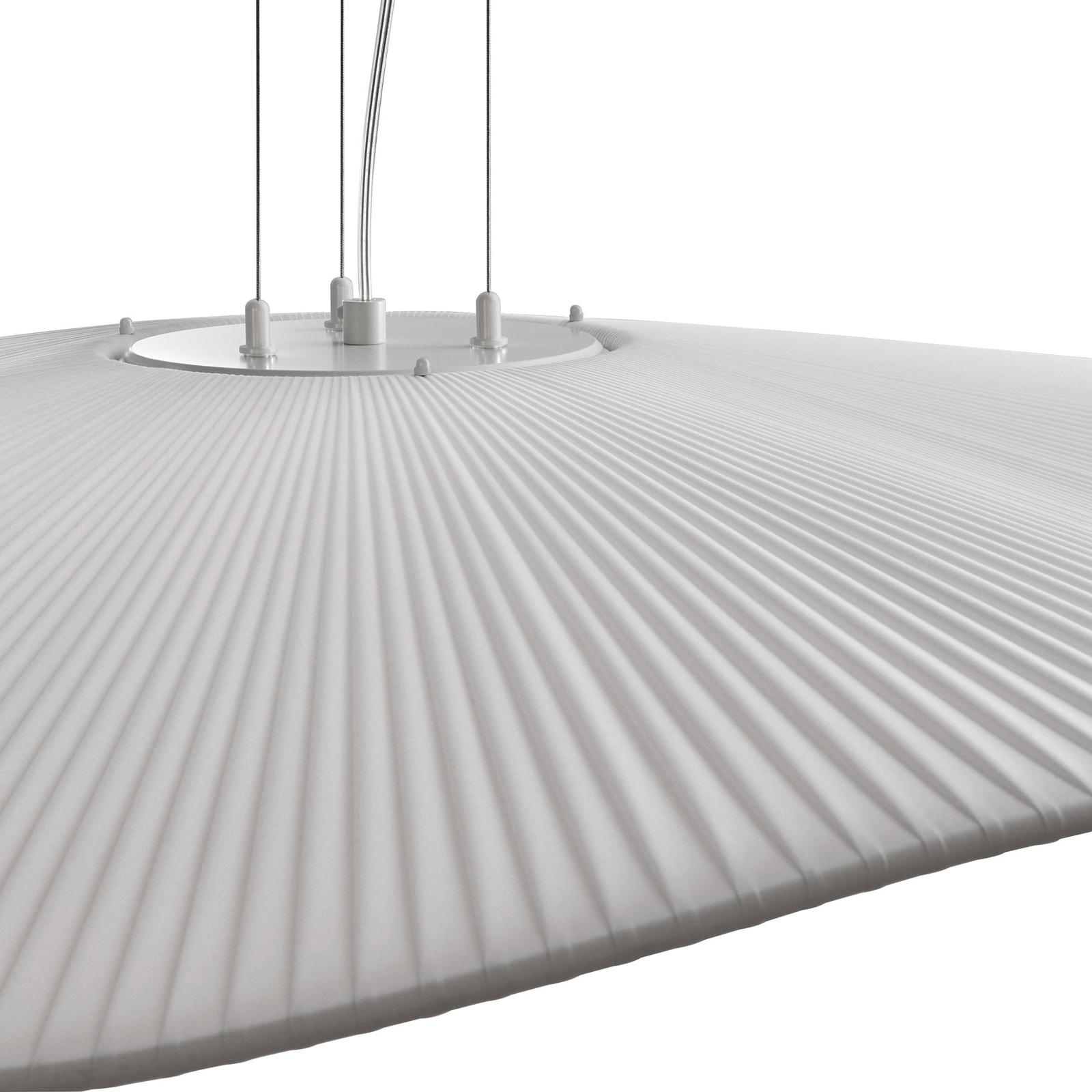Bover Mediterrània S/105/01 suspension LED blanche