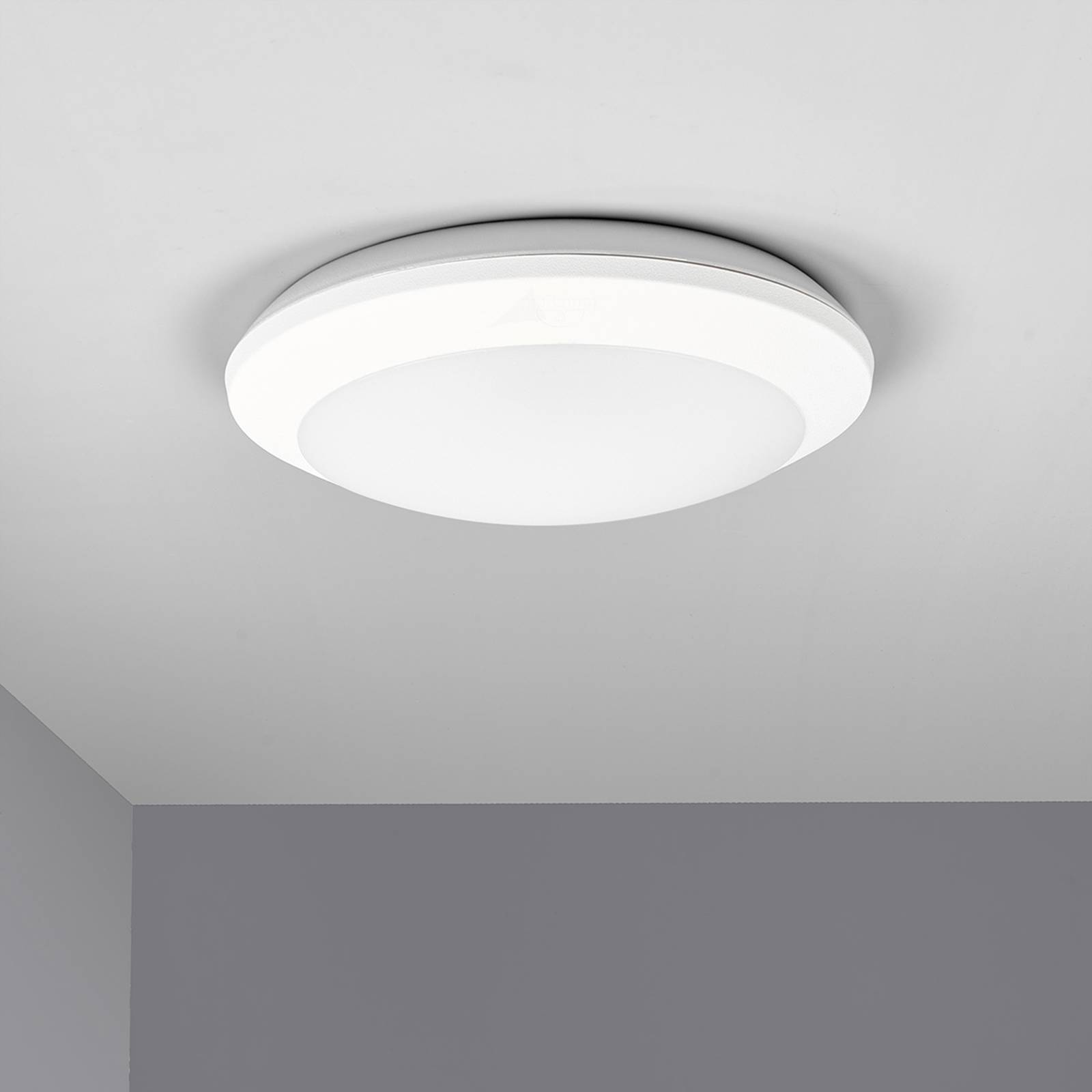 Lampa sufitowa LED z czujnikiem Umberta biała, CCT