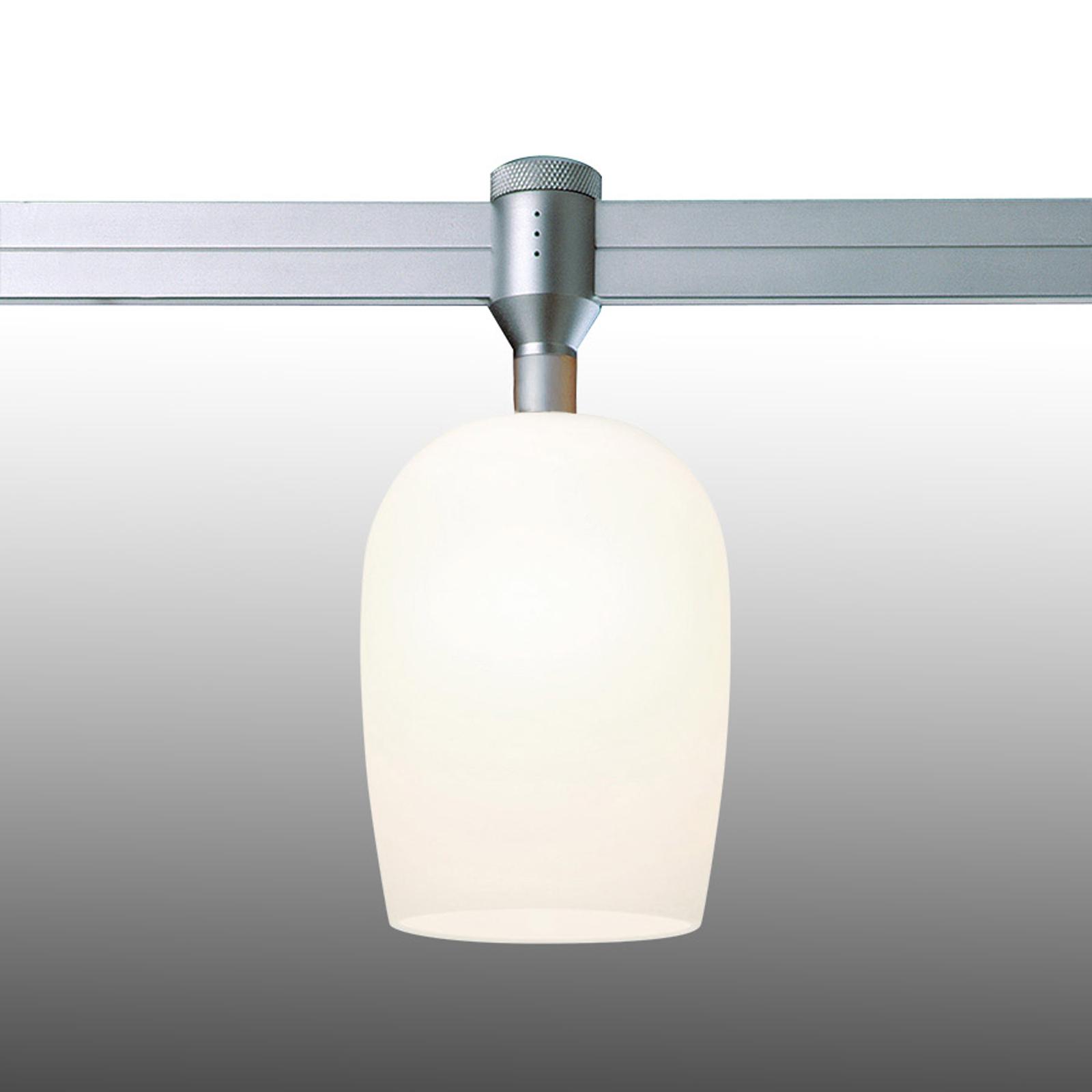 Lampada Balibu per binari CHECK-IN, bianca