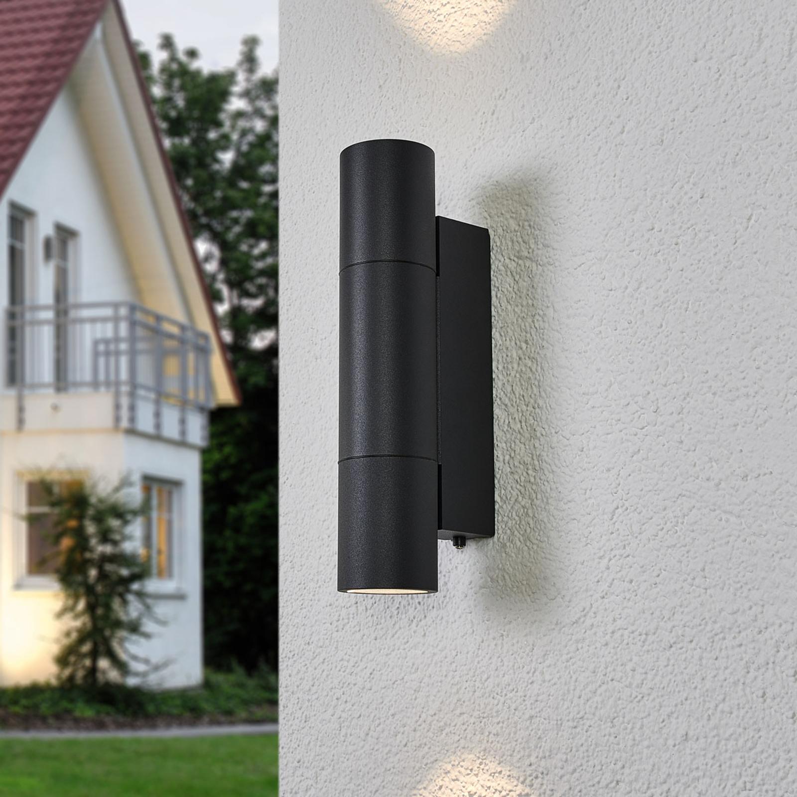 BEGA 66512K3 wall lamp graphite 3,000 K up/down_1566025_1
