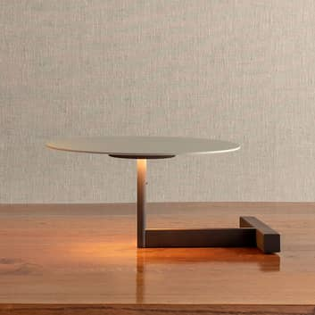 Vibia Flat LED-bordlampe med hylle, dimbar