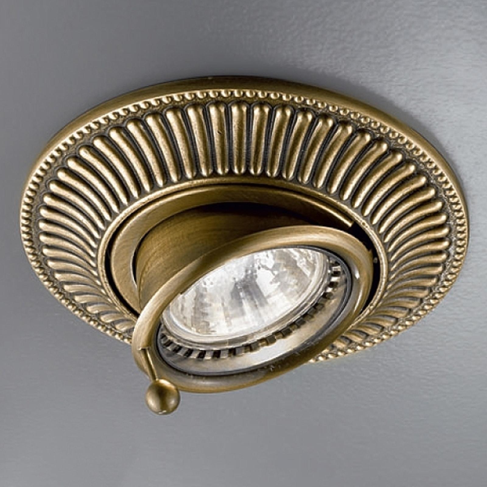 Fleksibel højvolts indbygget lampe MILORD