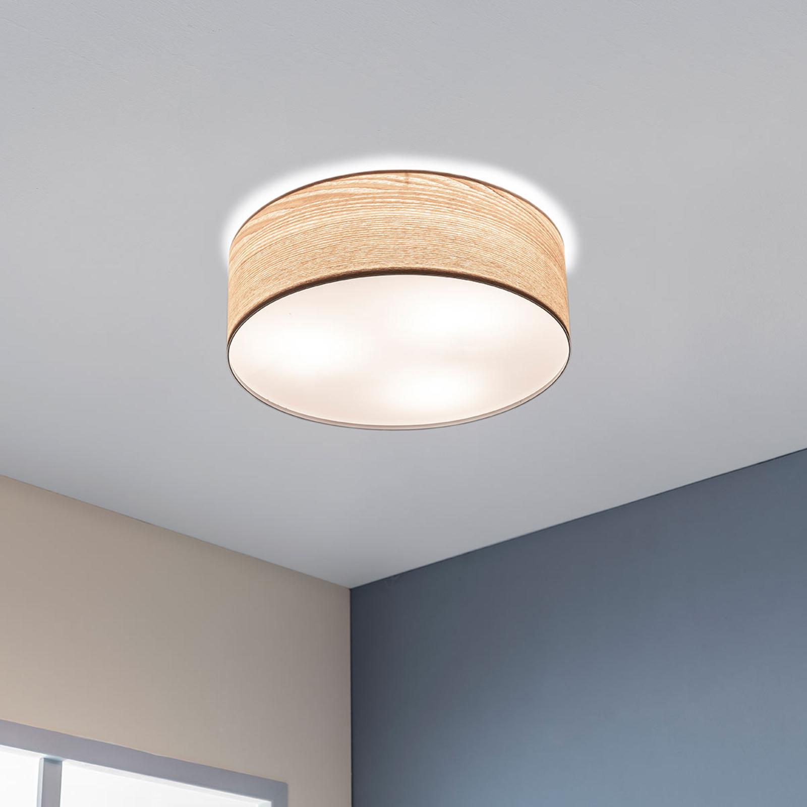 Paulmann Liska Deckenlampe in hellem Holz
