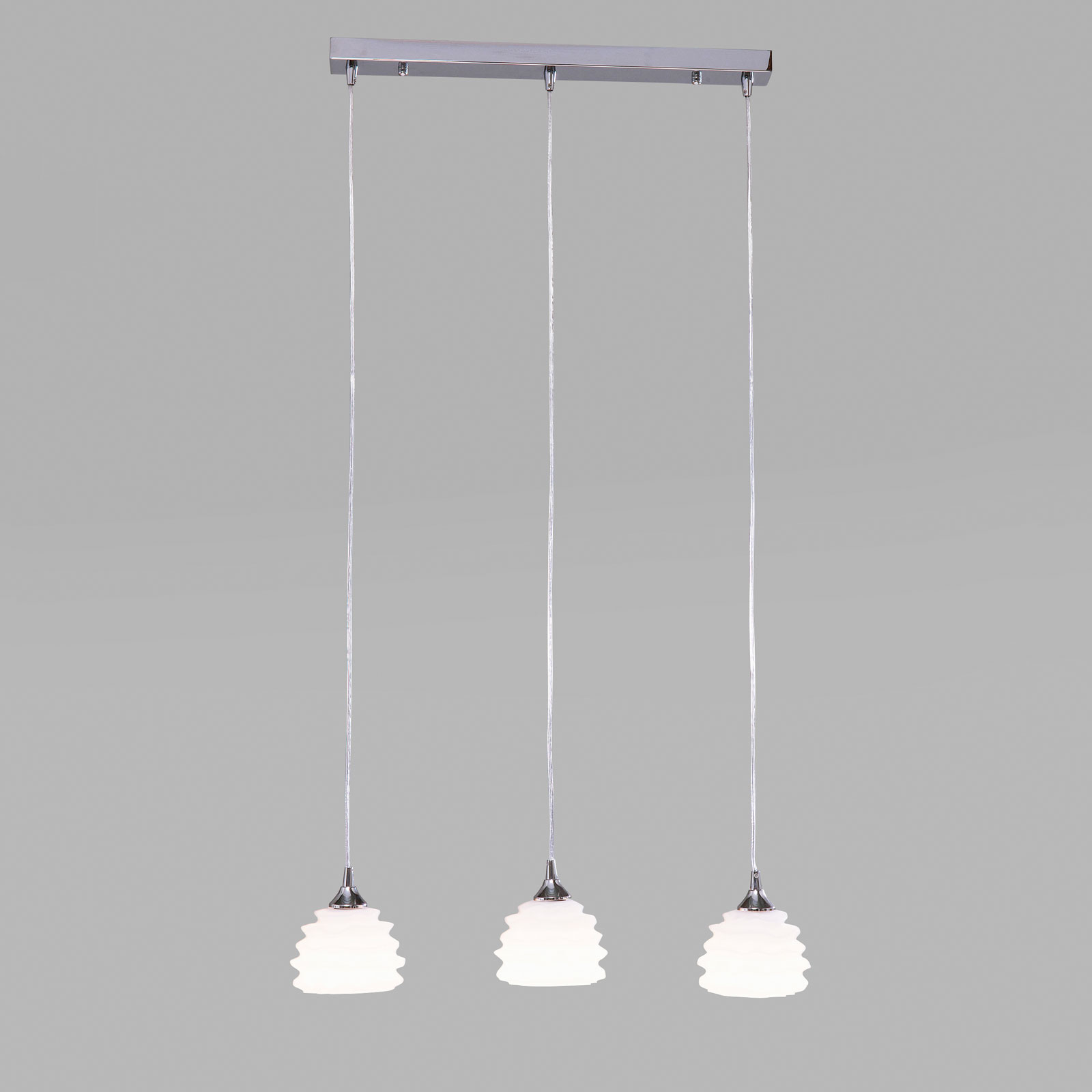 KARE Ruffle Dining suspension, blanche, 69cm