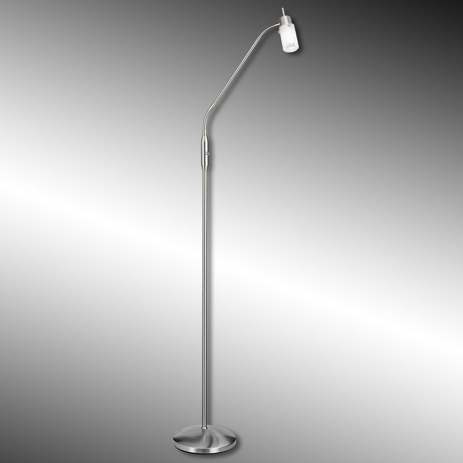 Jednopunktowa lampa stojąca LED MAX