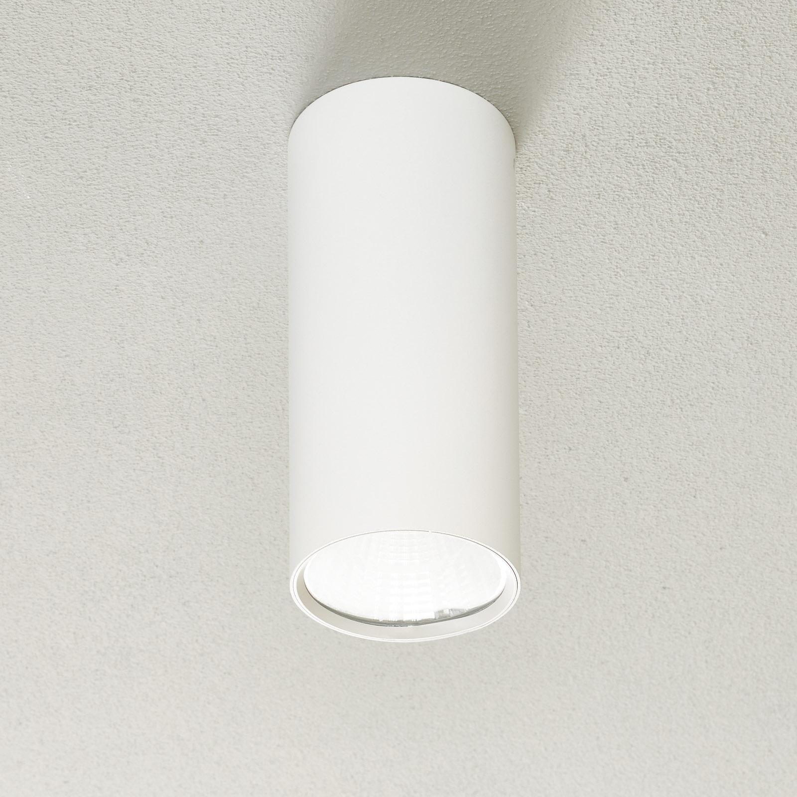 Lucande Takio LED downlight 2700K Ø10cm wit