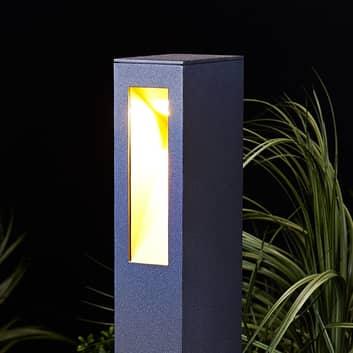 Lampione Jenke, lineare, lampadina LED