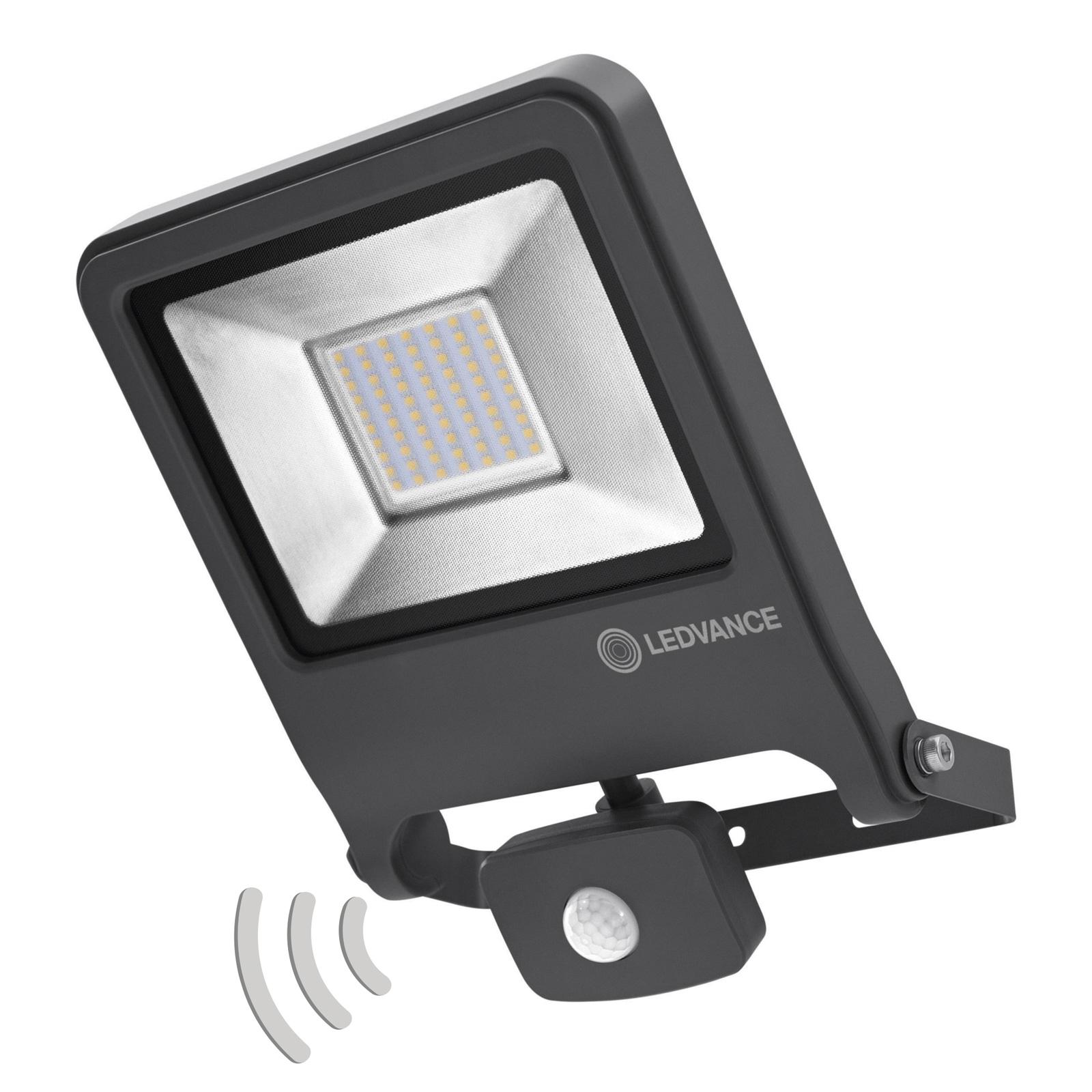 LEDVANCE Endura Flood Sensor Außenspot 840 DG 50W