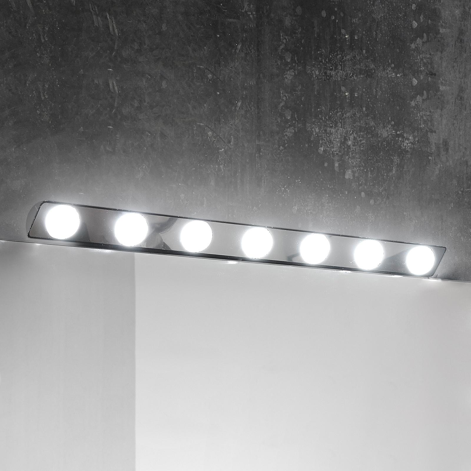 LED-speillampe Hollywood, 85cm 7 lyskilder.