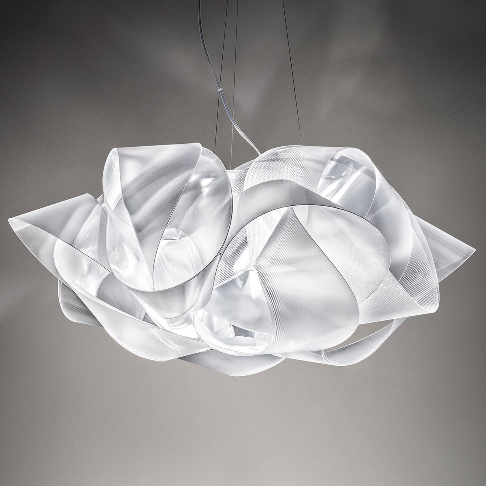 Slamp Fabula designerska lampa wisząca przejrzysta